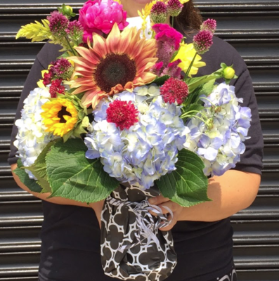 $100 Seasonal Vase Arrangement