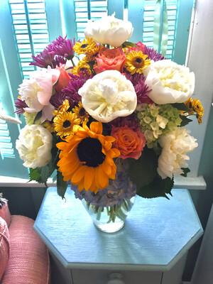 $150 Seasonal Vase Arrangement