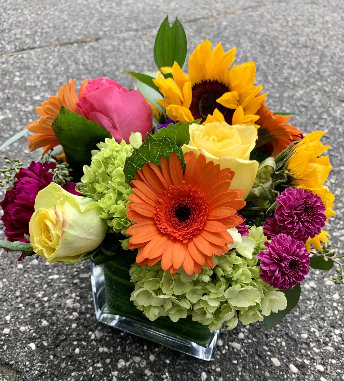 $65 Seasonal Vase Arrangement