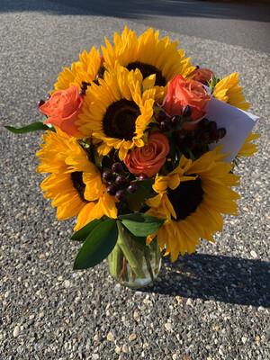 $85 Seasonal Vase Arrangement