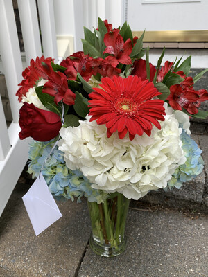$90 Seasonal Vase Arrangement