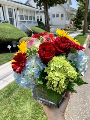 $75 Seasonal Vase Arrangement