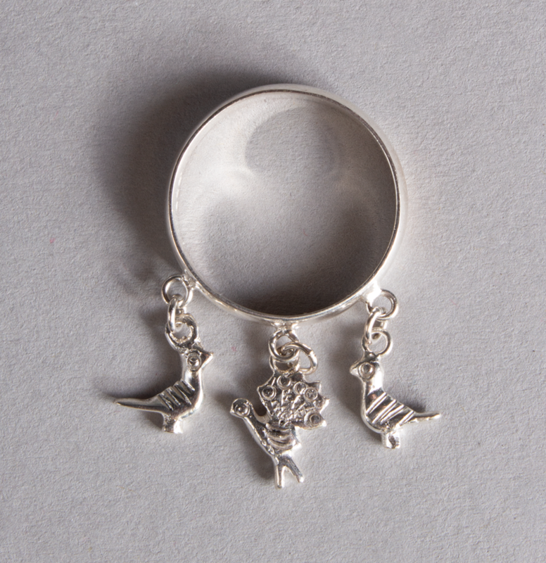 Silver Ring Pigeons & Turkey