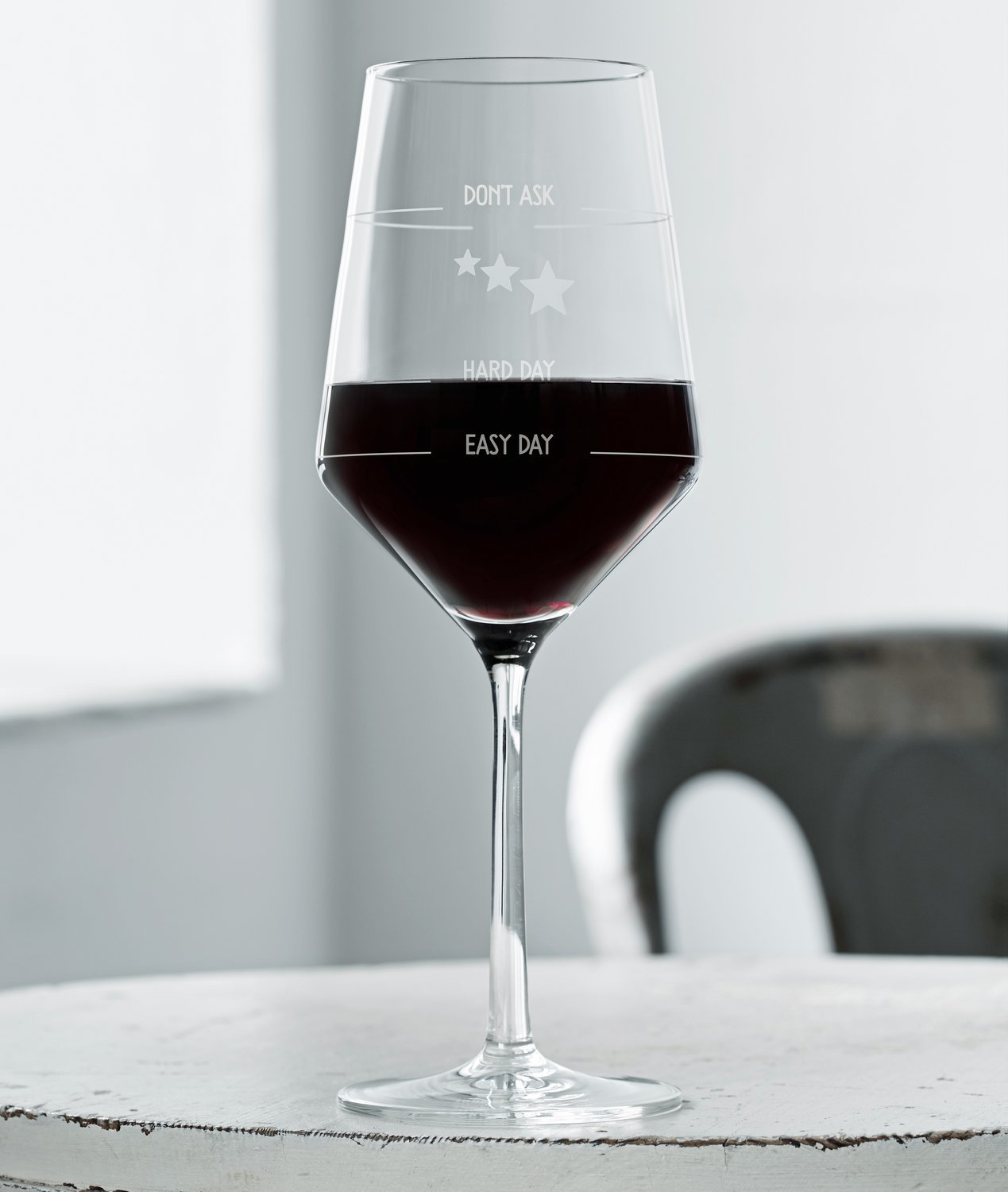 How was your day-glas (english version, 6 glasses)