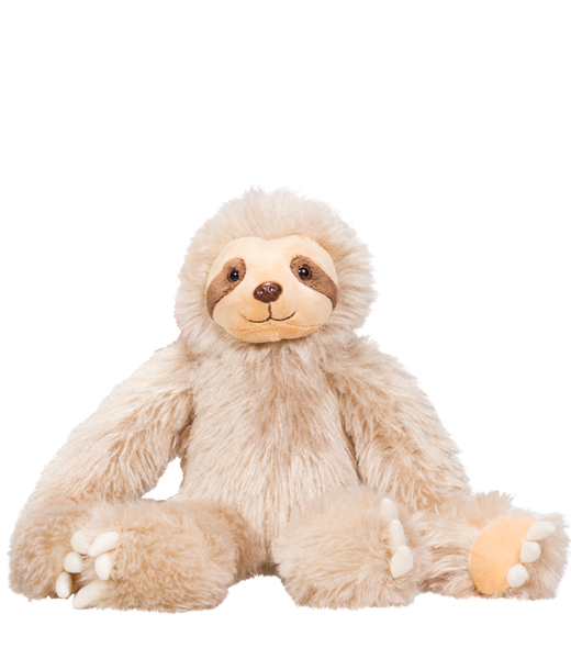 Speedy The Sloth - Build A Plush Bundle - 16 inches