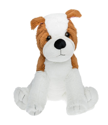 Cesar the Bulldog - Build-A-Plush Bundle - 16 inches