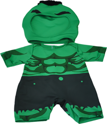 Hulk Superhero Outfit - 16 inches