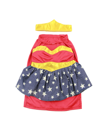 Wonder Woman Superhero Outfit - 16 inches
