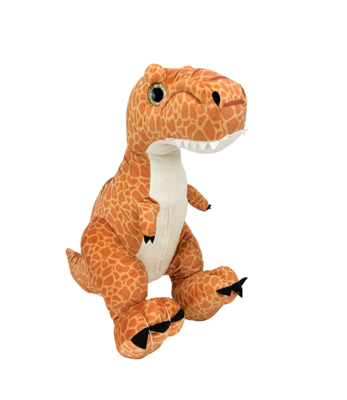Spike the T-Rex - Build-A-Plush Bundle - 16 inches