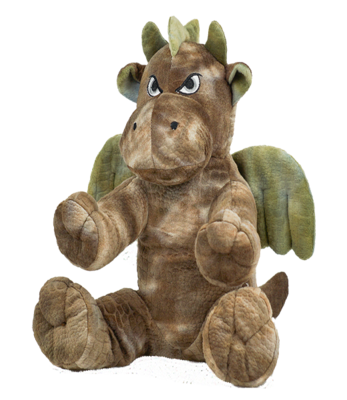 Jasper the Dragon - Build-A-Plush Bundle - 16 inches