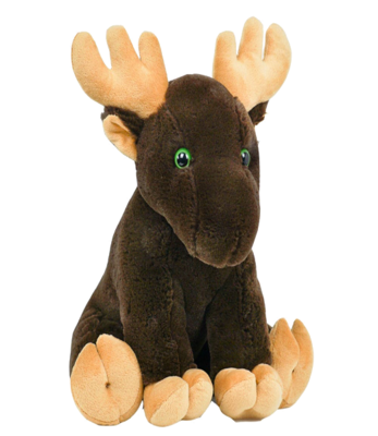 Bruce the Moose - Build-A-Plush Bundle - 16 inches