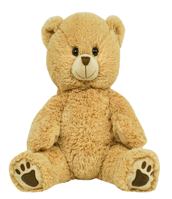 Winslow the Long Hair Bear - Build-A-Plush Bundle - 16 inches