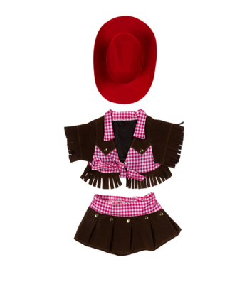 Cowgirl Outfit - 16 inches