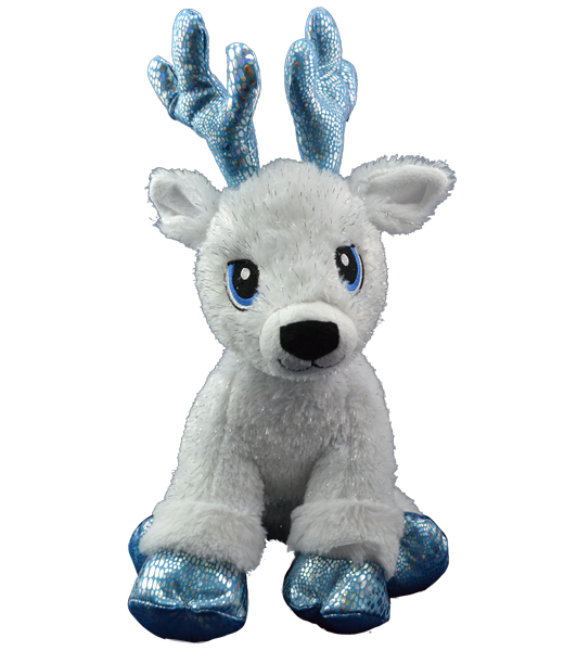Flash the Reindeer - Build-A-Plush Bundle - 16 inches