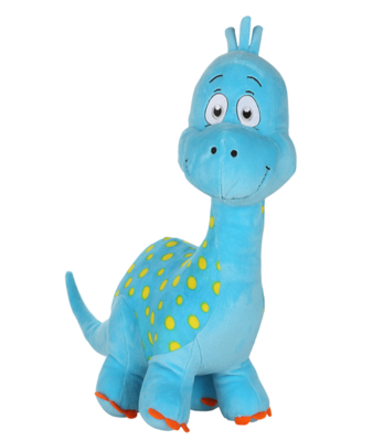 Newton the Long Neck Dino - Build-A-Plush Bundle - 16 inches
