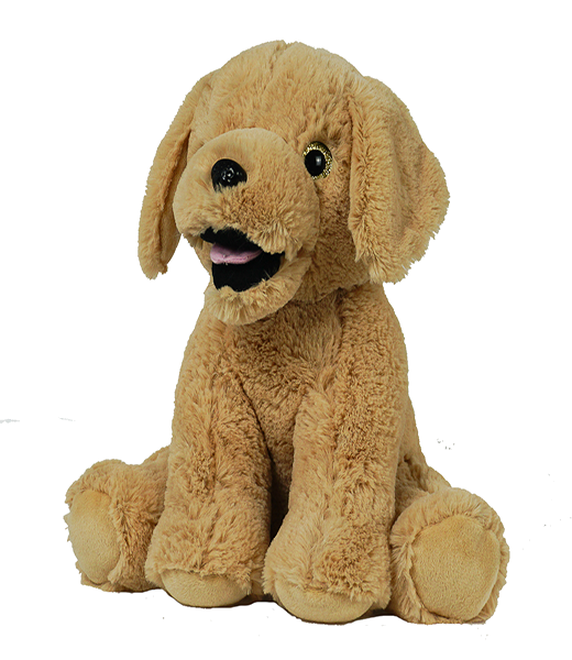Jack the Lab Dog - Build-A-Plush Bundle - 16 inches