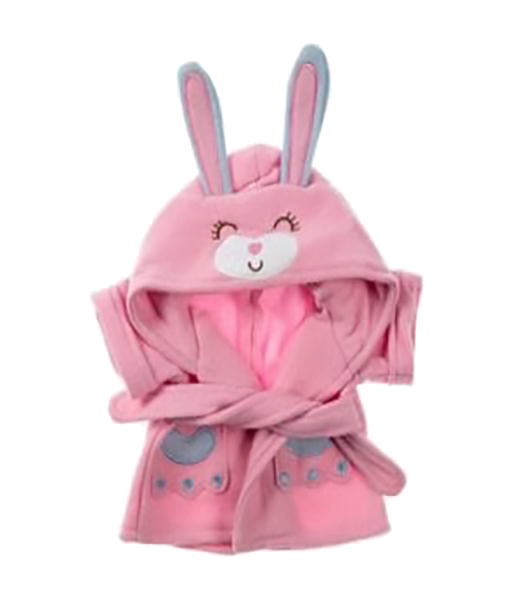 Bunny Bathrobe Outfit - 16 inches