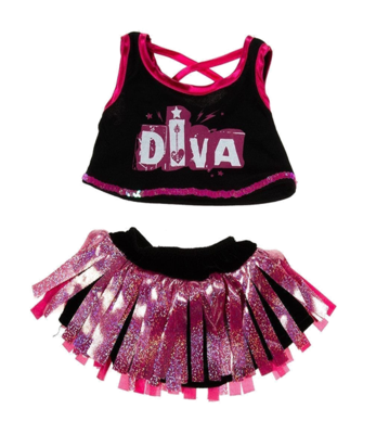 Diva Girl Outfit - 16 inches
