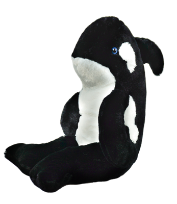 Tuxedo the Whale - Build-A-Plush Bundle - 16 inches