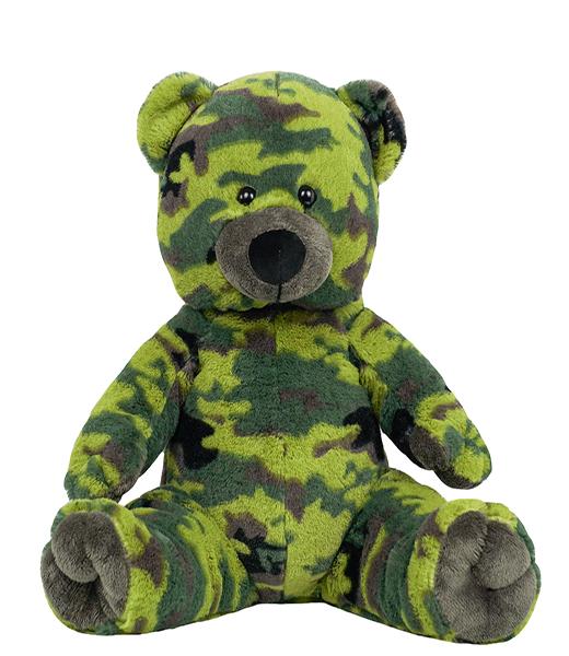 Jake the Camo Bear - Build-A-Plush Bundle - 16 inches