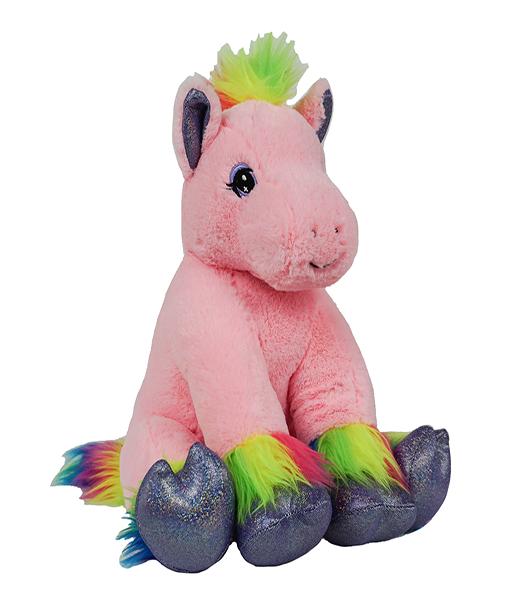Calli the Rainbow Pony - Build-A-Plush Bundle - 16 inches