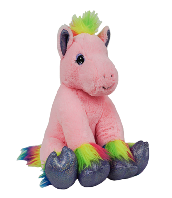 Calli the Rainbow Pony - Build-A-Plush Bundle - 16 inches