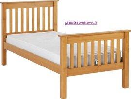 Monaco 3' Bed (Single) Antique Pine High-end