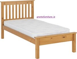 Monaco 3' Bed (Single) Antique Pine  Low-end