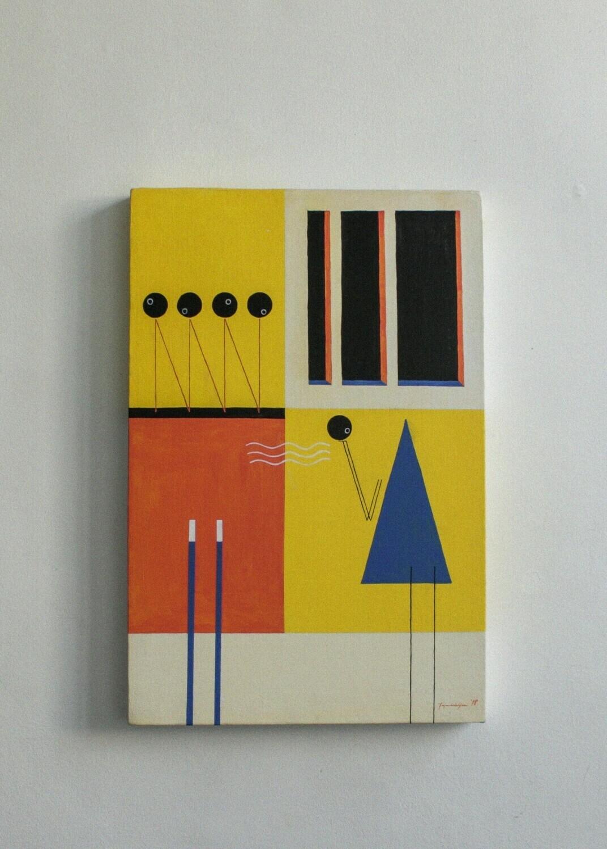 """Metonymy & Multiplicity"" (painting)"