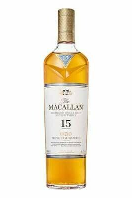 The Macallan Triple Cask Matured 15 Year Old