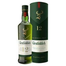 Glenfiddich 12 Year Whiskey