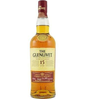 Glenlivet 15 Year Whiskey
