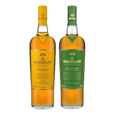 The Macallan Edition No. 3 & No. 4