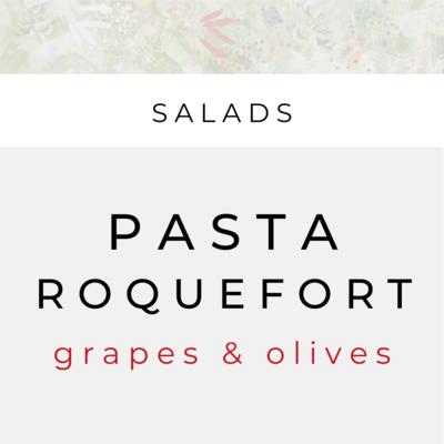 Ensalada de Pasta y Roquefort