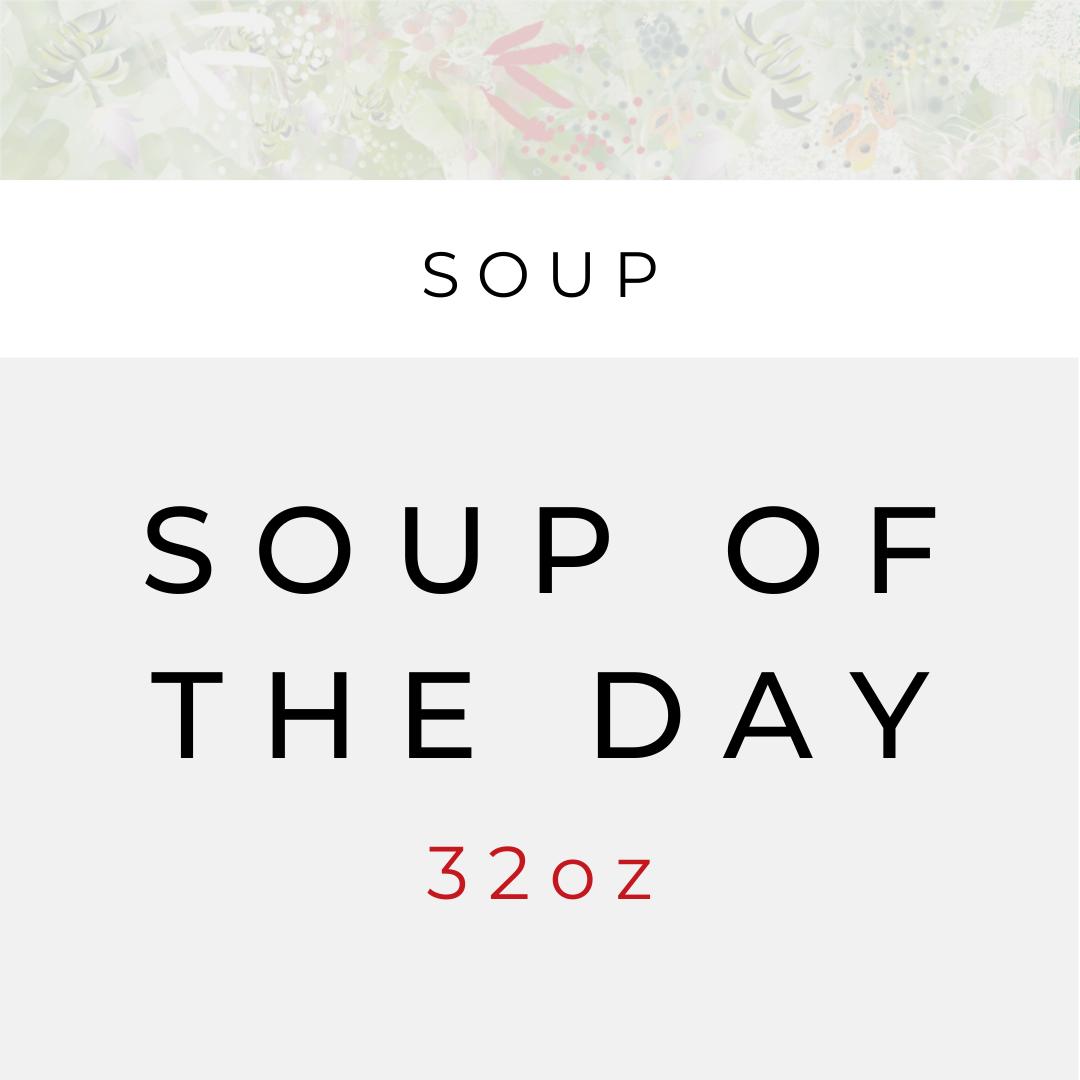 Sopa del Dia (serves 2)