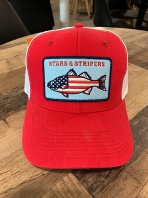 Stars & Stripers Fishing Trucker Cap