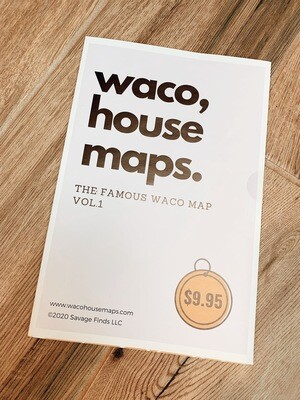 Waco House Map - Addresses To The Famous Fixer Upper Houses