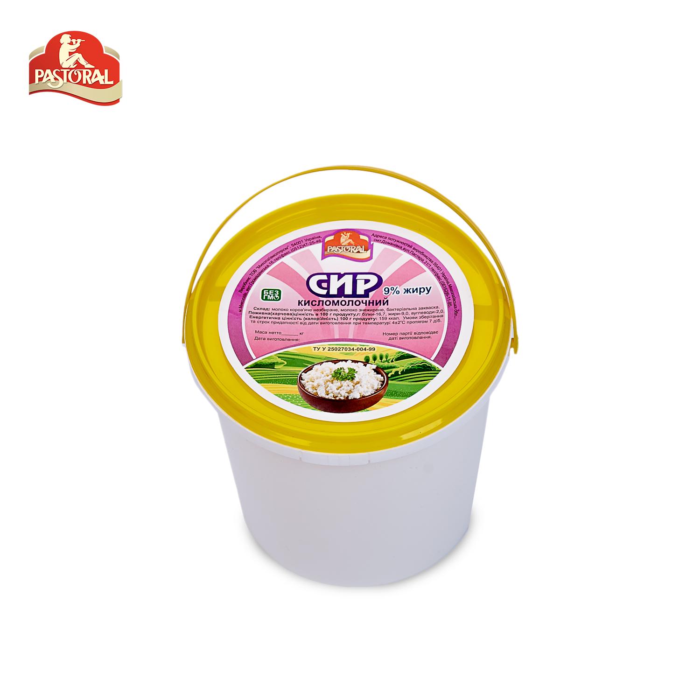 Сир кисломолочний 9%
