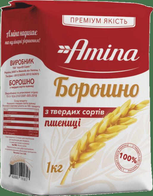 Борошно з твердих сортів пшениці 1 кг