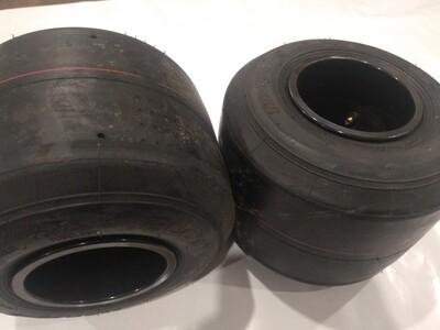 Комплект шин задних ALCT 11x7-10-5 на 210 чёрном диске.