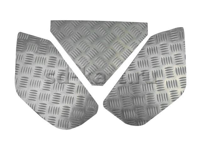 Комплект алюминиевых поликов (комплект 3 шт.)
