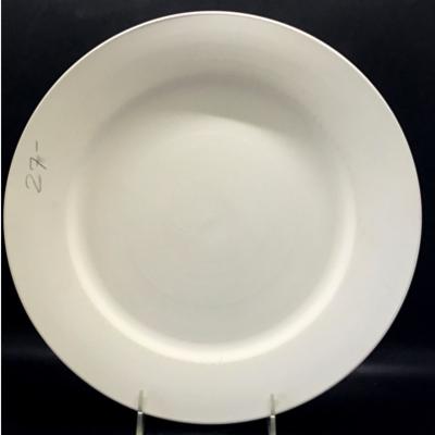 11' Rimmed Dinner Plate