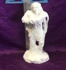 Hunting Indian Tribe Man Figurine