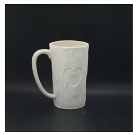 Tall Trunk Heart Mug