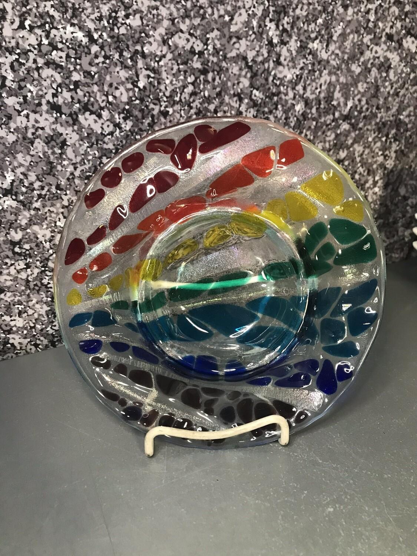 Glass Fusing Jewelry Tray