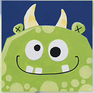 """Zoom Art Class: Kids, Teens, & Everyone In Between """"Monster Madness"""" July 18th"""
