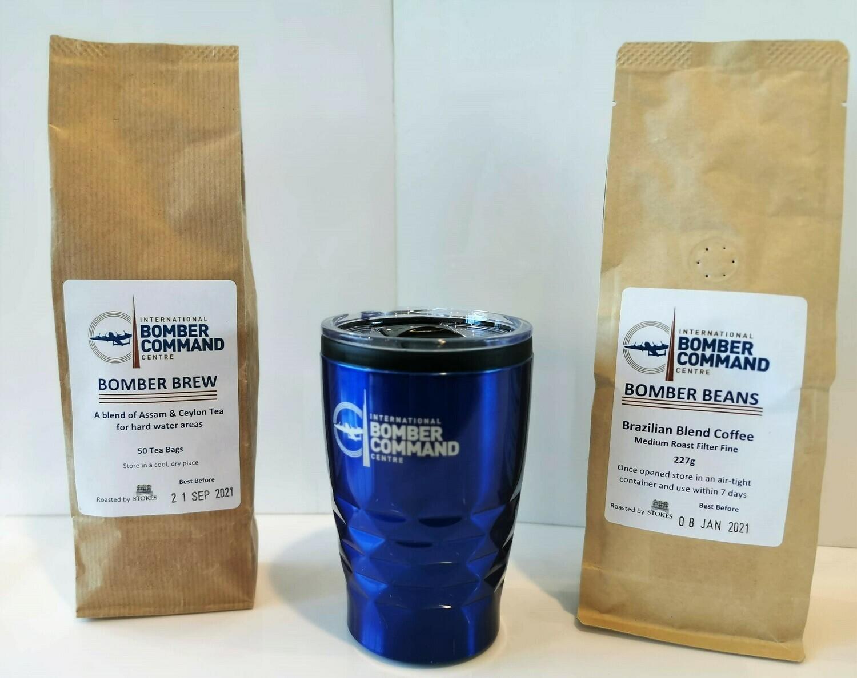 IBCC Travel Mug and Coffee and Tea Gift Pack