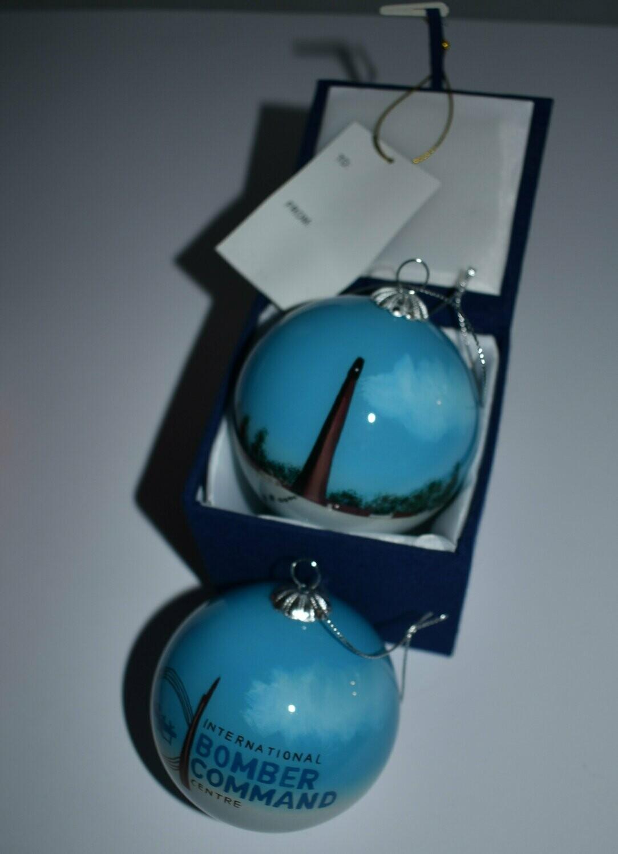 IBCC Christmas Bauble - Blue