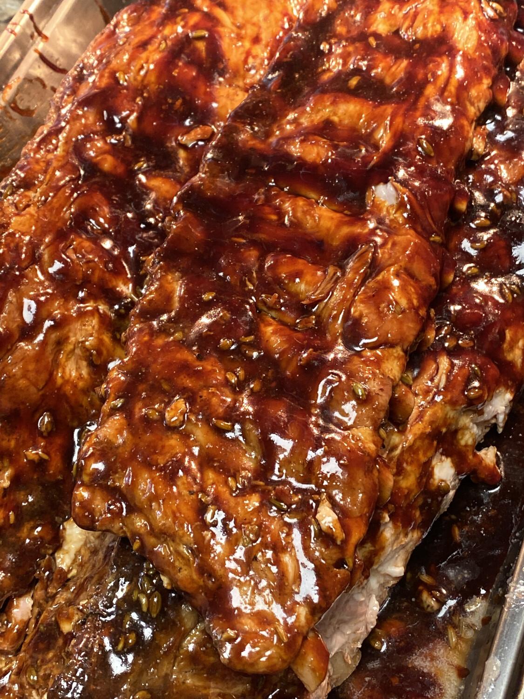 BBQ Ribs Full Rack Sharer