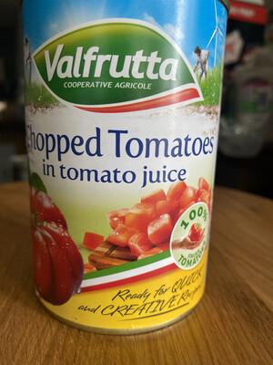 Chopped Tomatoes 400g Tin